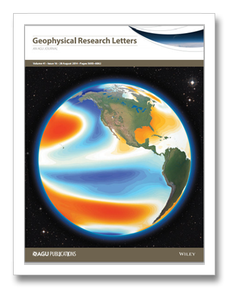 geophysical research letters temperature climate discovery 21941 | Hiatus Geophysical Research Letters Cover