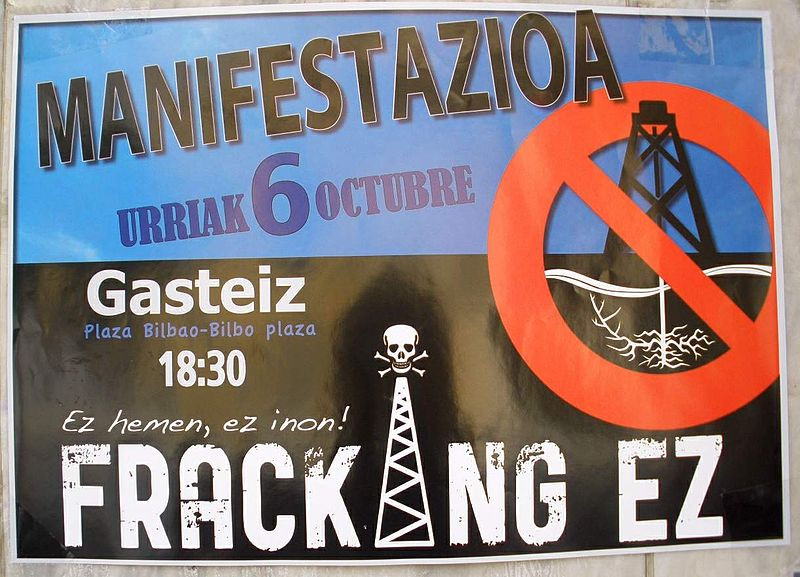 No fracking espanol