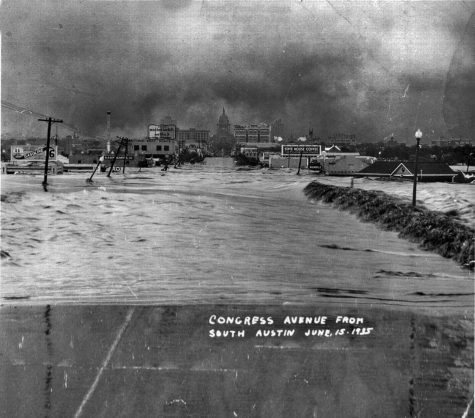 1935 Capital fom south Austin flood tall
